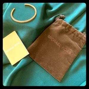 Micheal Kors Bangle Bracelet - Rose Gold